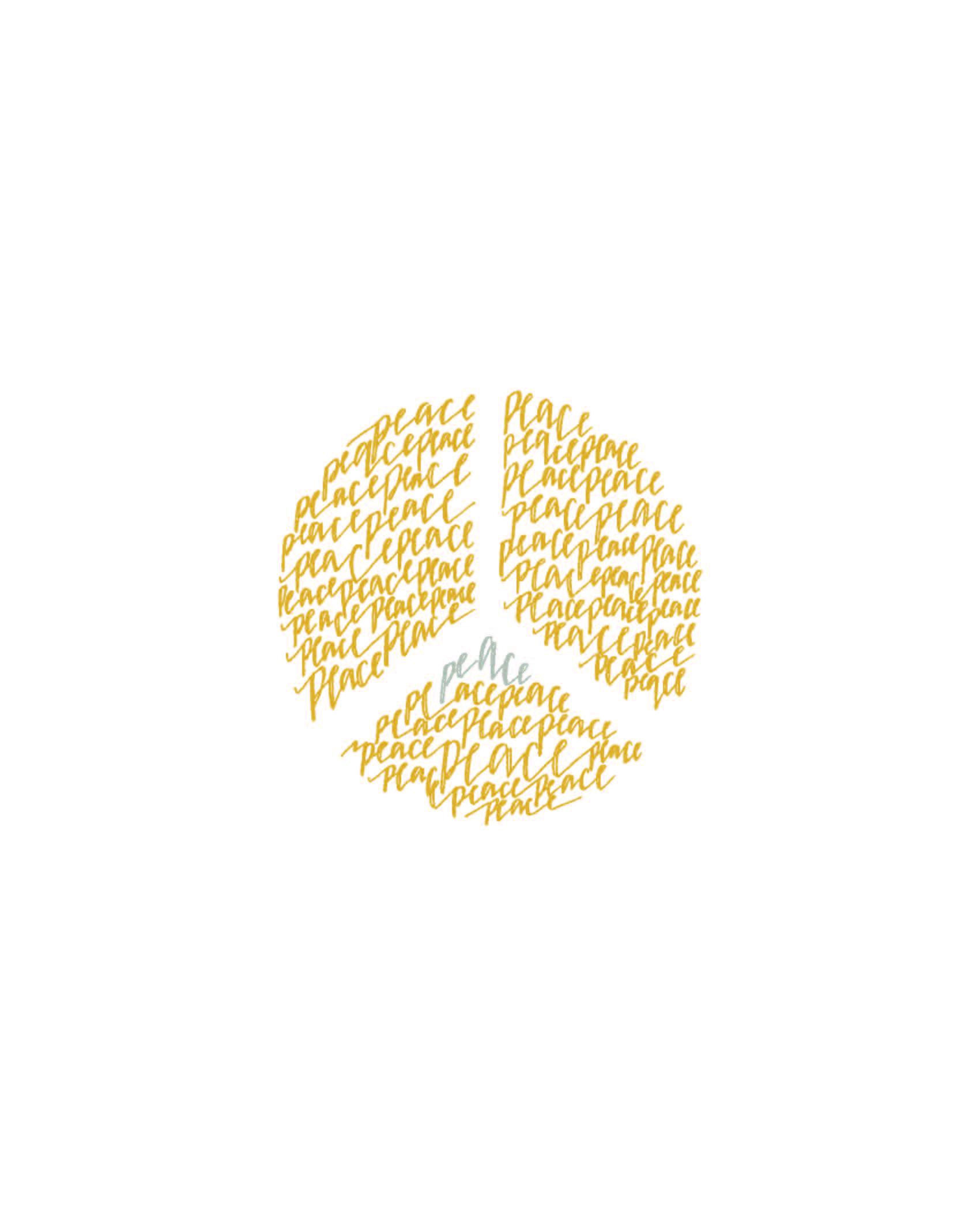Peace Lettering Design | 2015