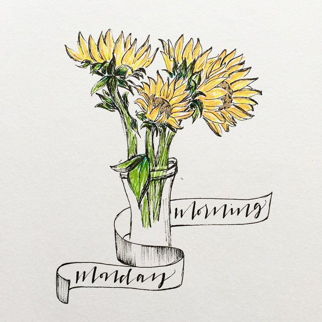 Sunflowers Illustration | 2015
