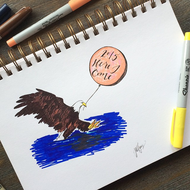 Eagle Illustration | 2015