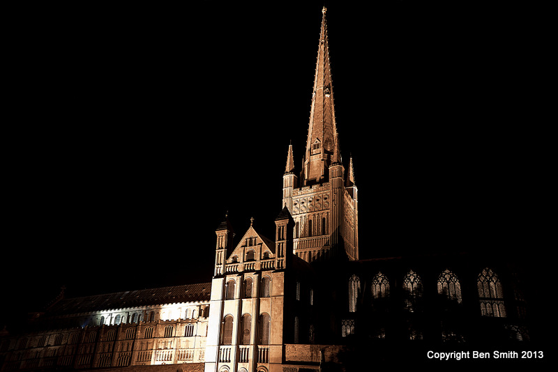 From Deanery at night