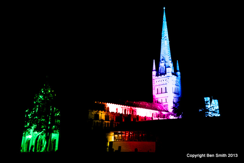 Multi-coloured Cathedral