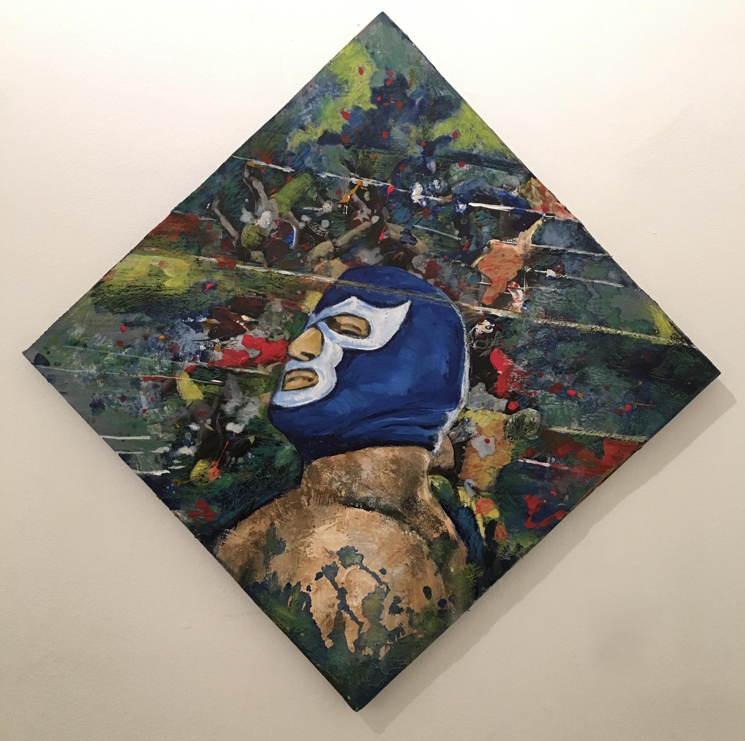 Tribute to Blue Demon by Michael Massenburg