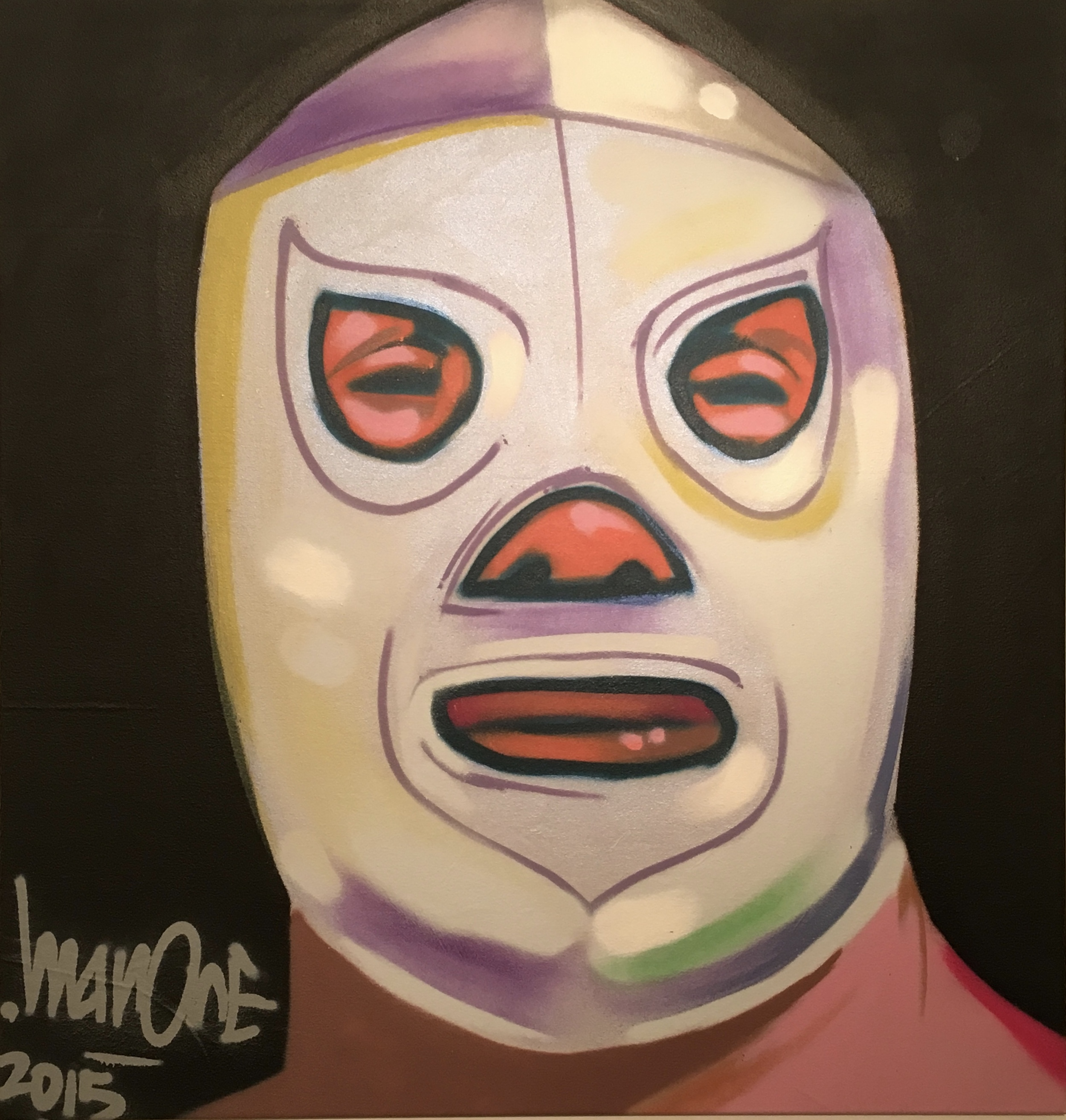 El Santo by Man One