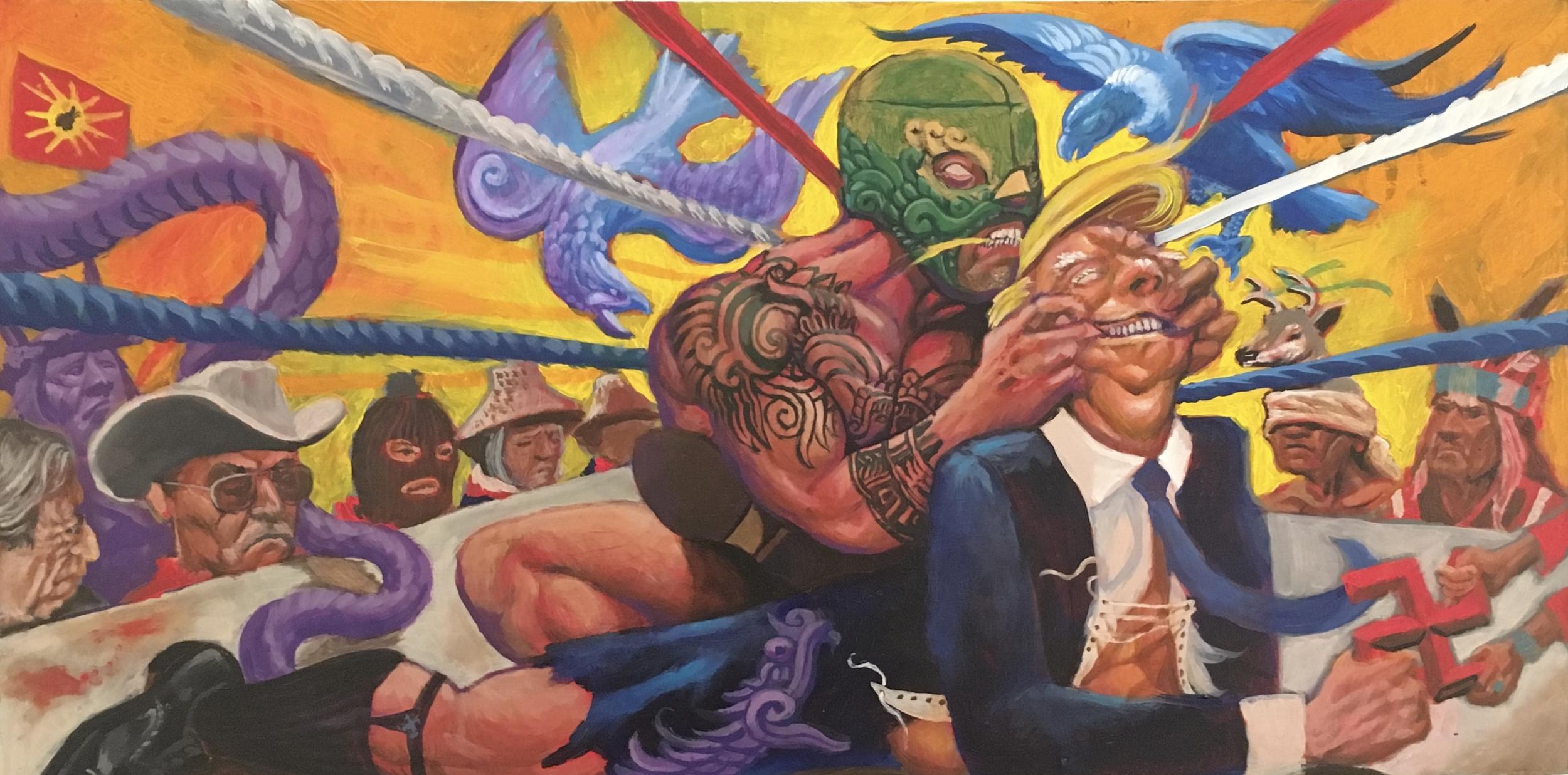 Trump Train by Antonio Mejia