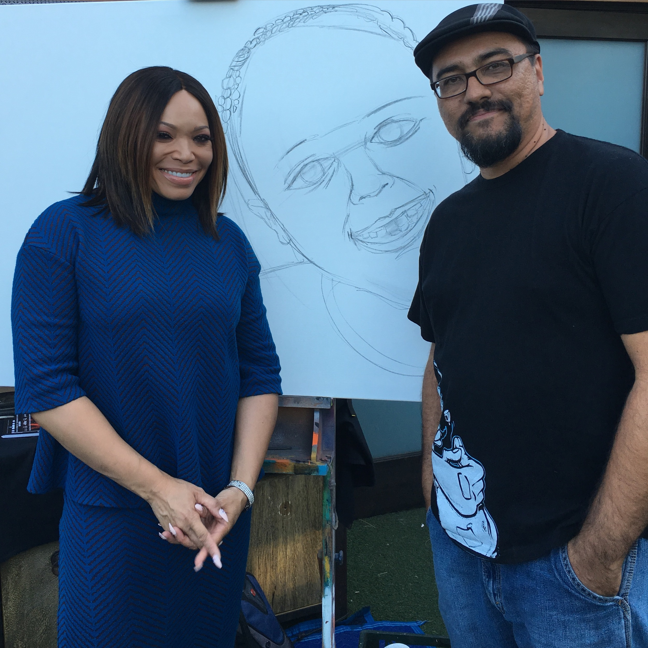 With the talented Tisha Campbell Martin