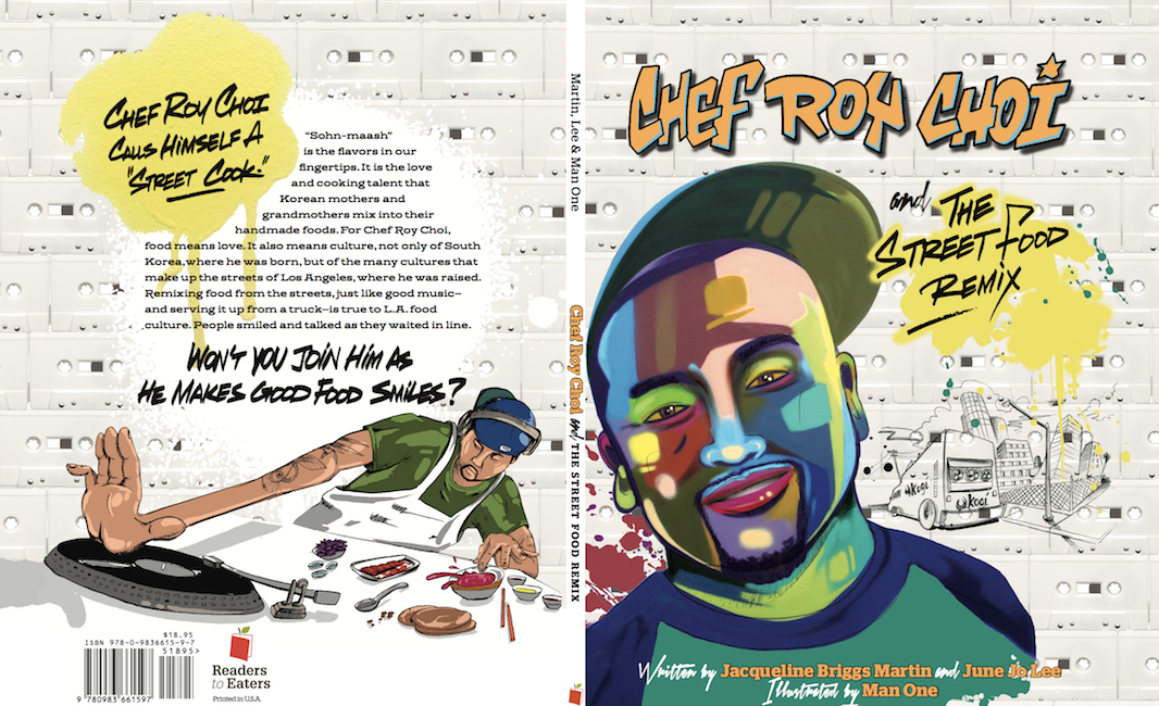 Front and back cover illustrations.