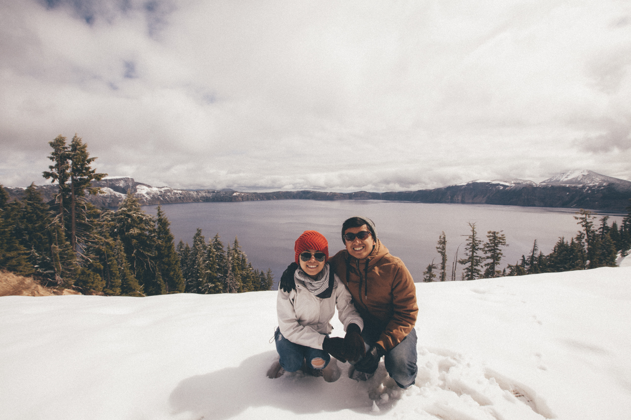 Photographing the Discovery Point Trail at Crater Lake National Park, Oregon