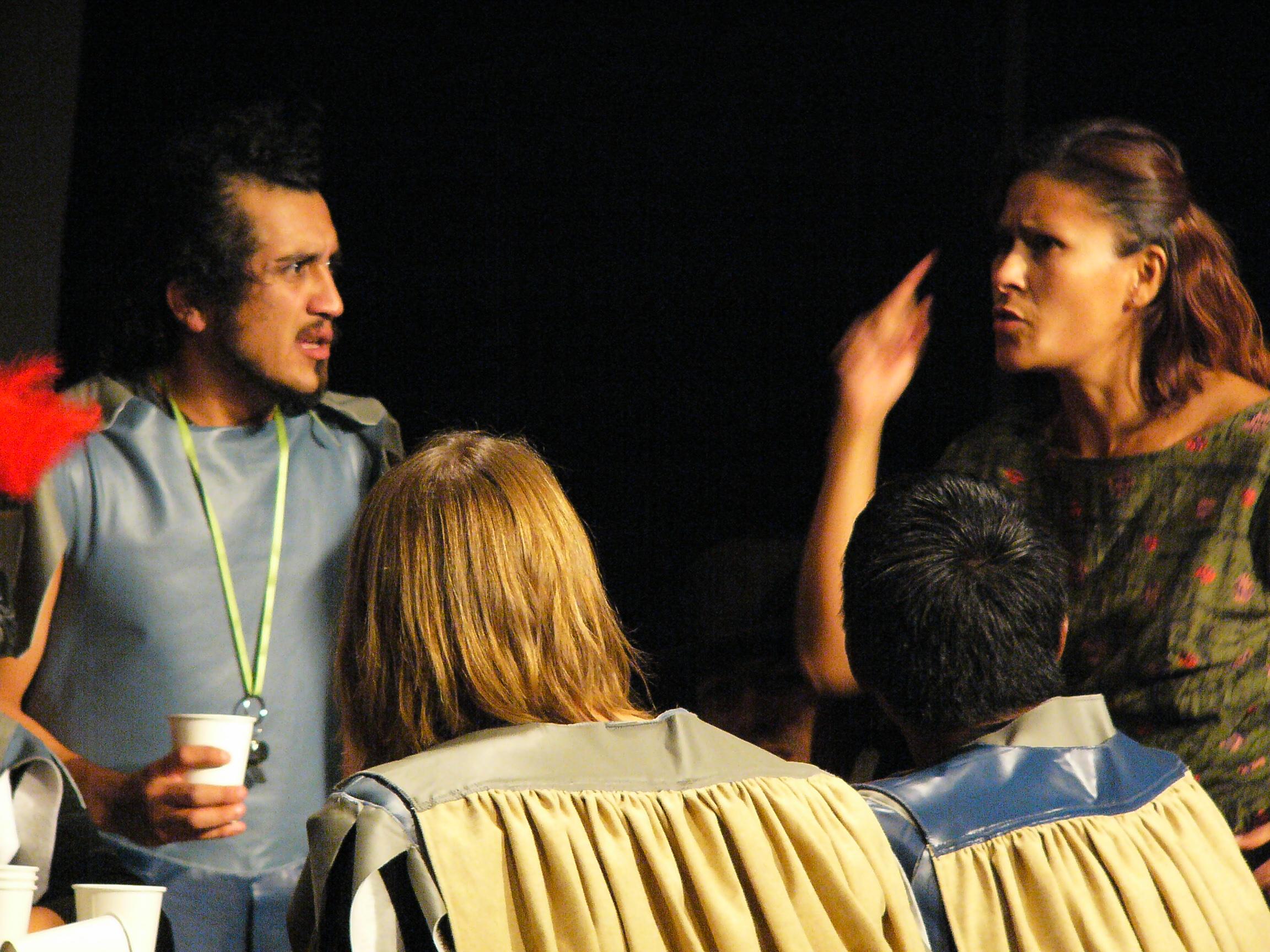 A Los Actores - September 2010