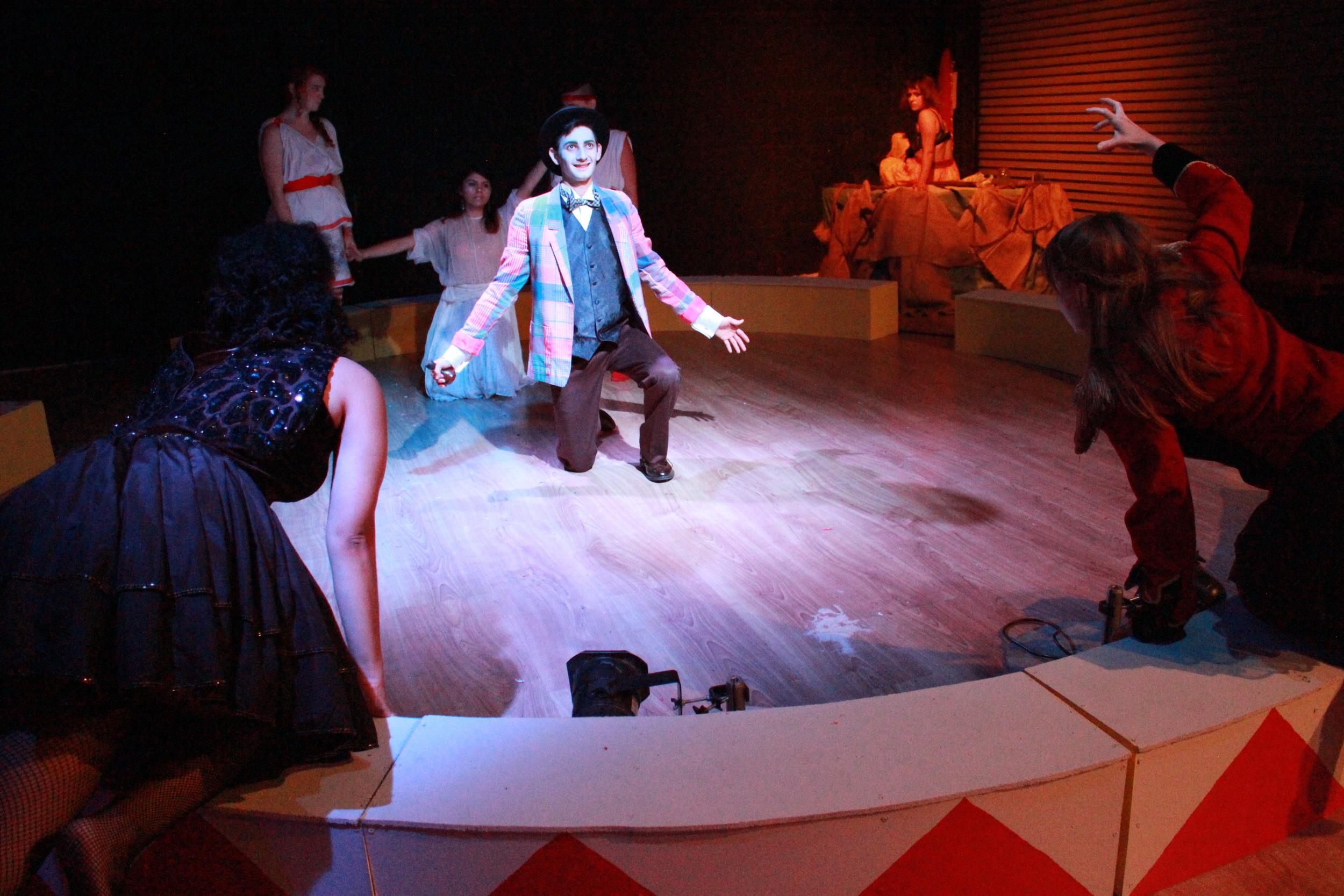 WARCIRCUS, after Euripides' Trojan Women - 2014