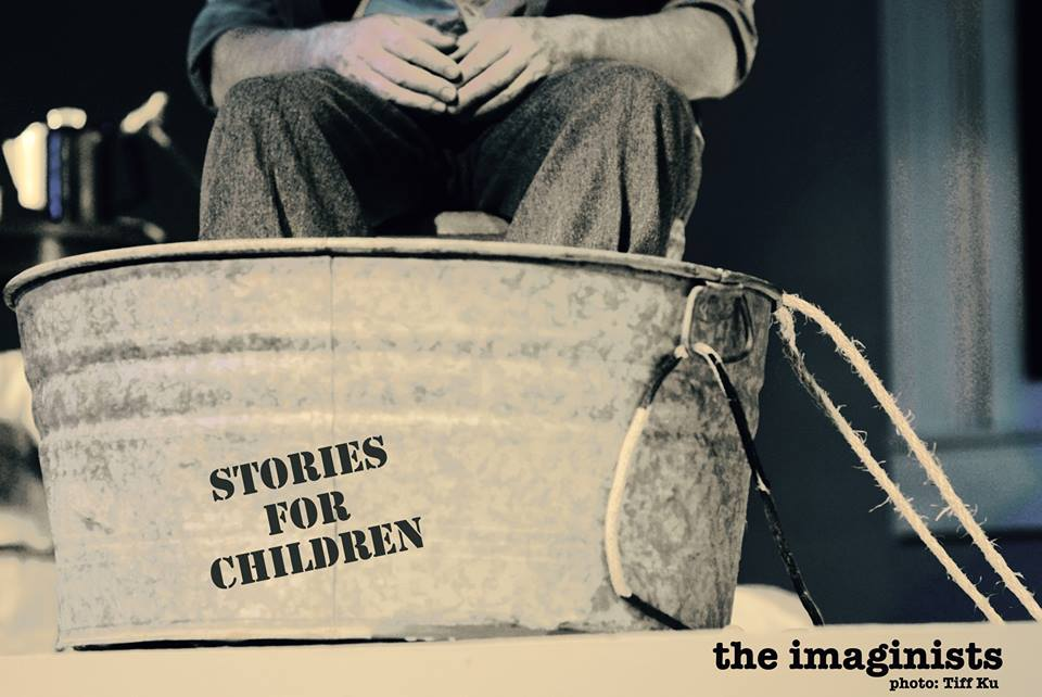 Stories for Children 2016,  Three original short pieces inspired by the life and work of Russian absurdist short story writer Daniil Kharms. Puppets, animated landscapes, and live actors bring three small, intricately crafted, worlds to life. Sept. & Oct. 2016