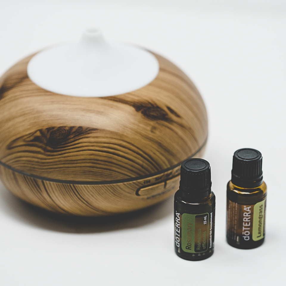 Diffuser + Essential Oils -