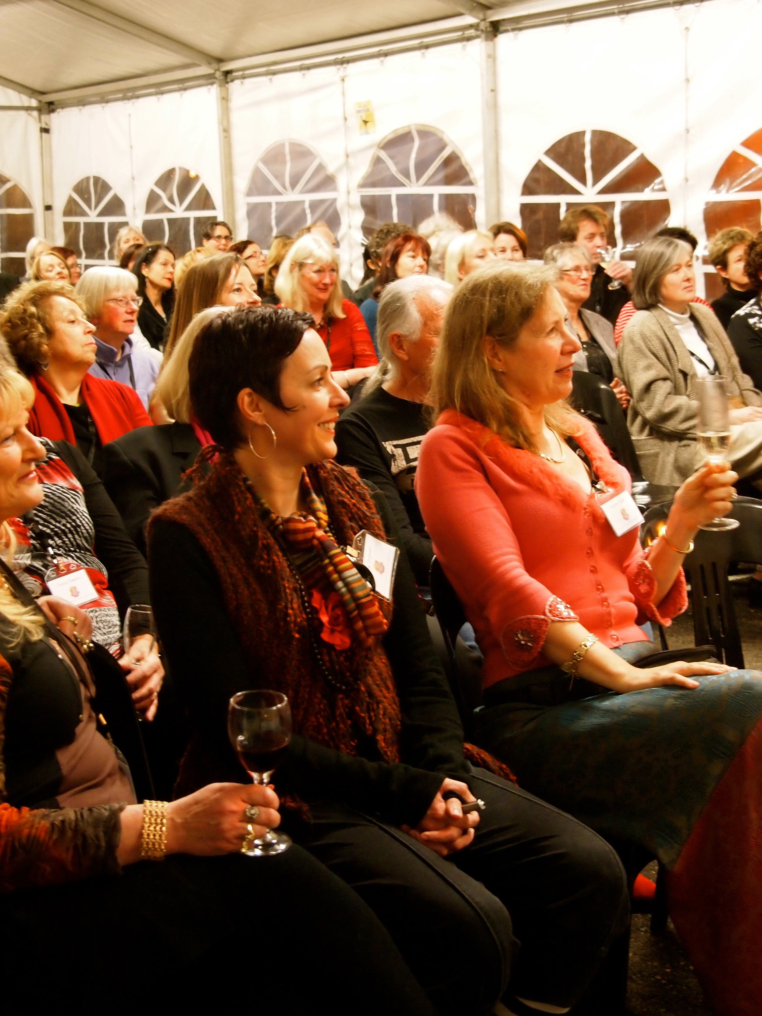 Attentive attendees at the SCBWI Aus/NZ 2012 Conference
