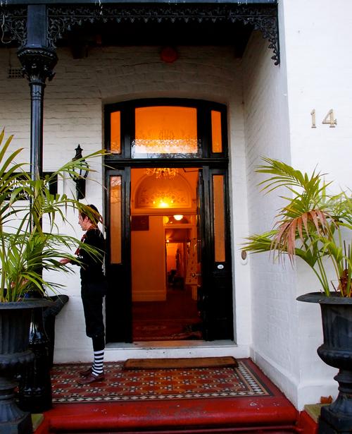 The historic  Hughenden Hotel,  home of SCBWI Australia/NZ