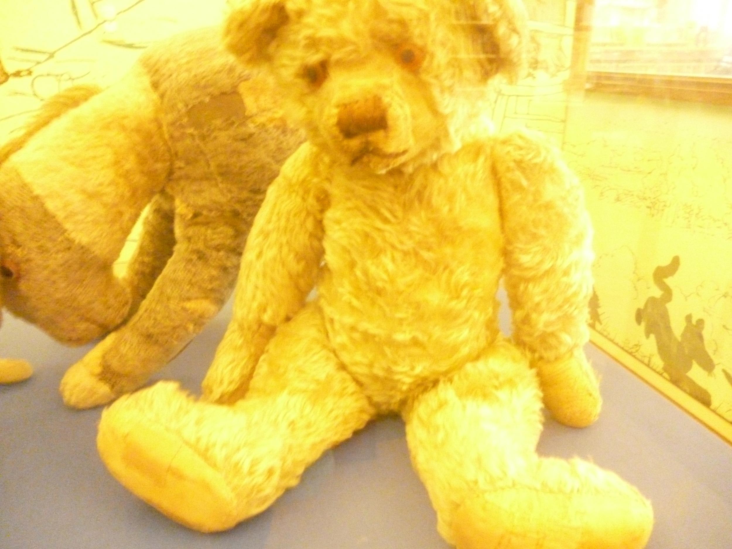 Pooh bear in NY Library.JPG