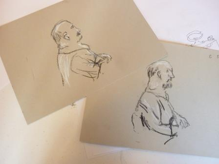 Images created by participants contrasting left vs right hand.