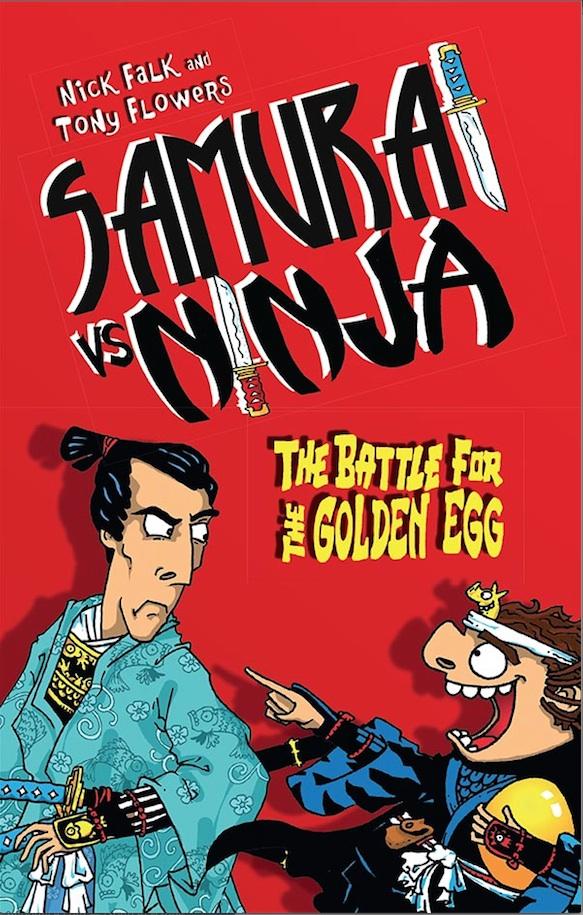 Samurai vs Ninja Battle for the Golden Egg.jpg