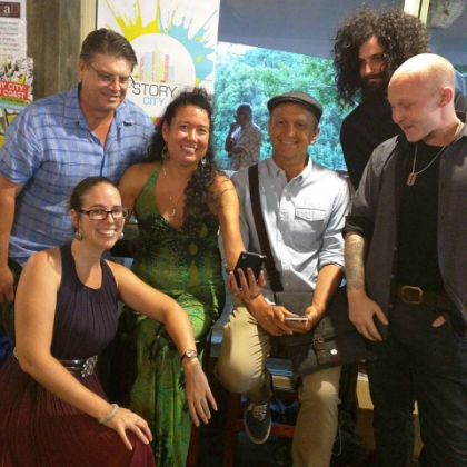 The Gold Coast team headed by Emily Craven - photo courtesy Jenny Stubbs