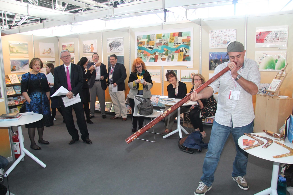 Jackie French and Gregg Dreise among those at this year's Bologna Book Fair