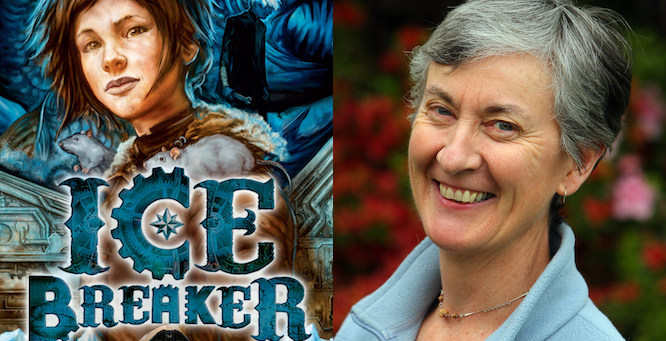 Lian Tanner, author of The Keepers Trilogy and The Hidden Series.