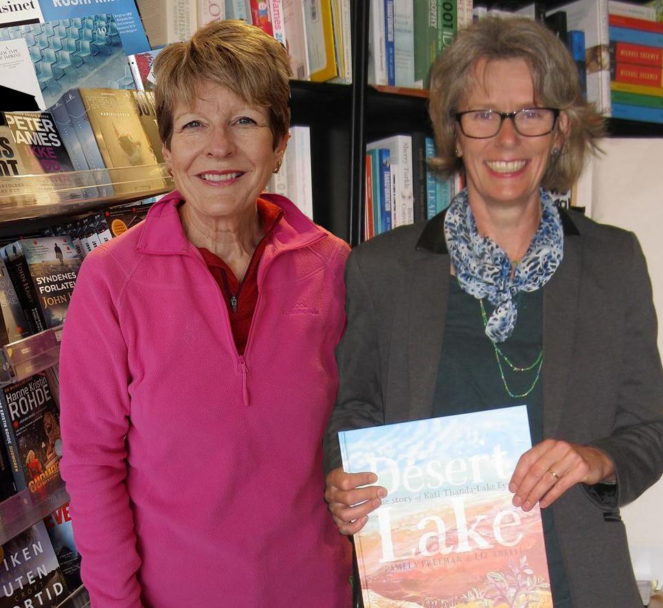 Julie Swaine and Liz Anelli.