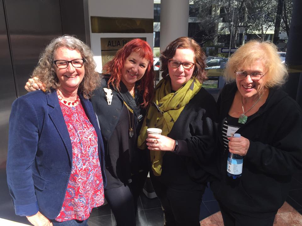 Stephanie Owen Reeder, Clare Hallifax, Isobelle Carmody, Susanne Gervay