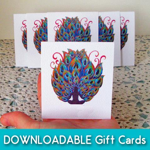 free peaock cards