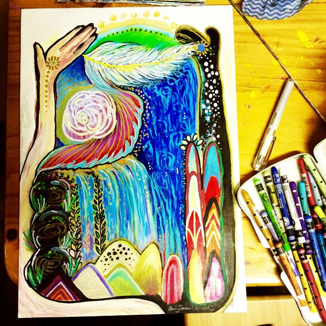 Intuitive Painting.