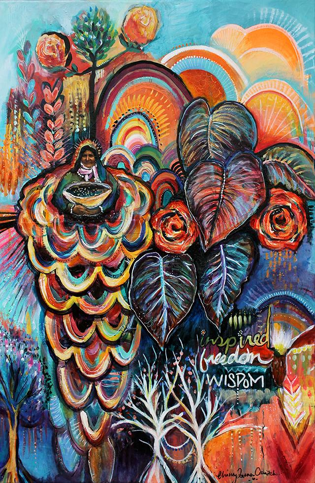 'WISDOM IN GRATITUDE'. Original Artwork + Prints available   HERE  .