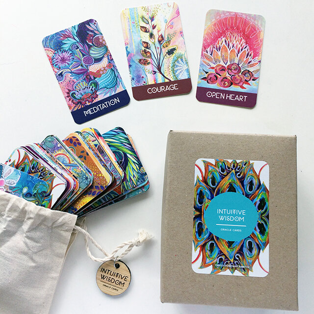 Intuitive Wisdom Cards Chrissy Foreman