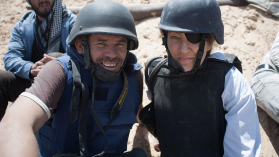 Under The Wire - This is a feature length drama-documentary I worked on last year, it tells the epic story of what happened to Sunday Times Reporter Marie Colvin and photographer Paul Conroy in Homs...https://www.imdb.com/title/tt8520614/https://dogwoof.org/2B9oWRo