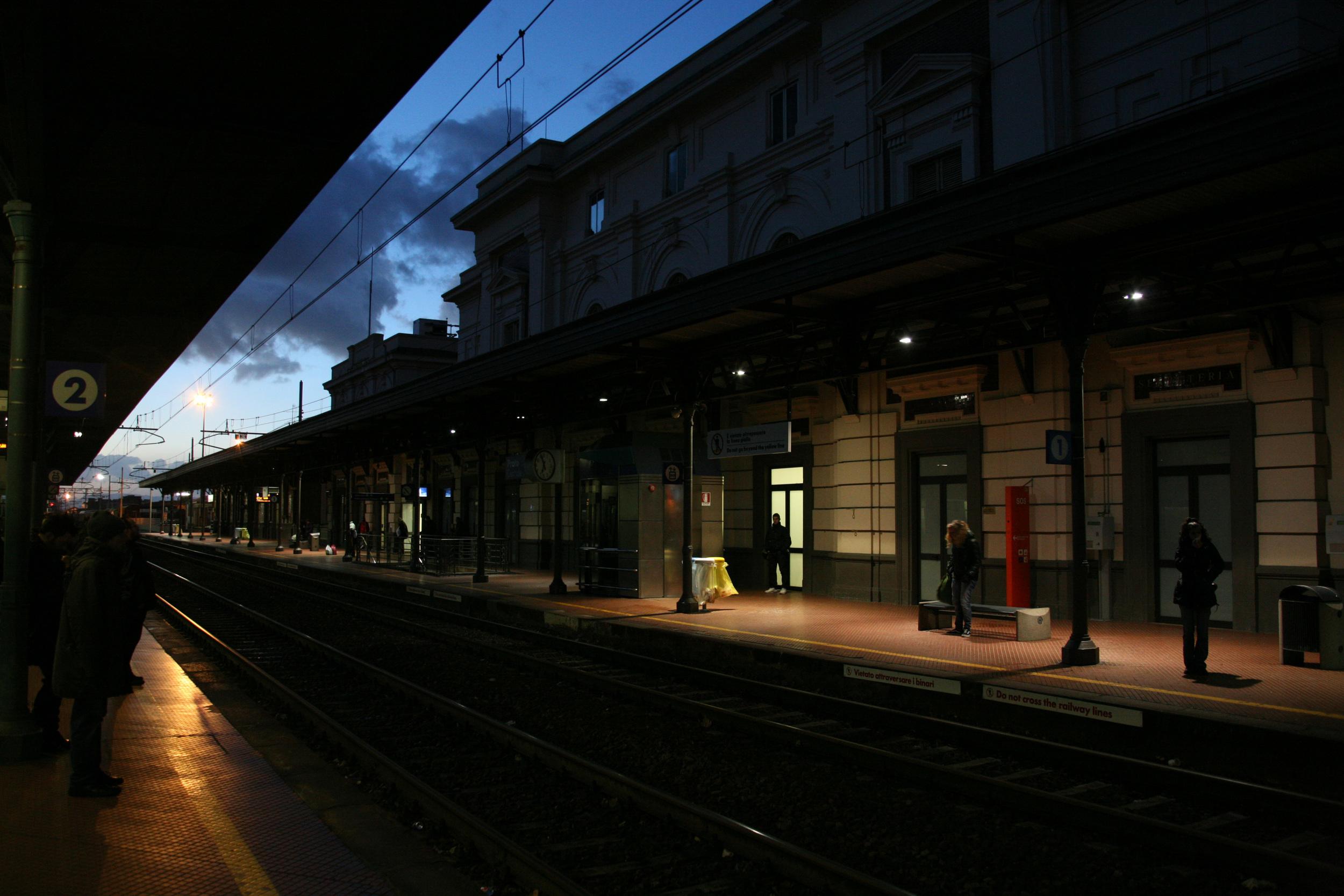 Stazione di Prato Centrale, Prato, Tuscany, Italy, 2009