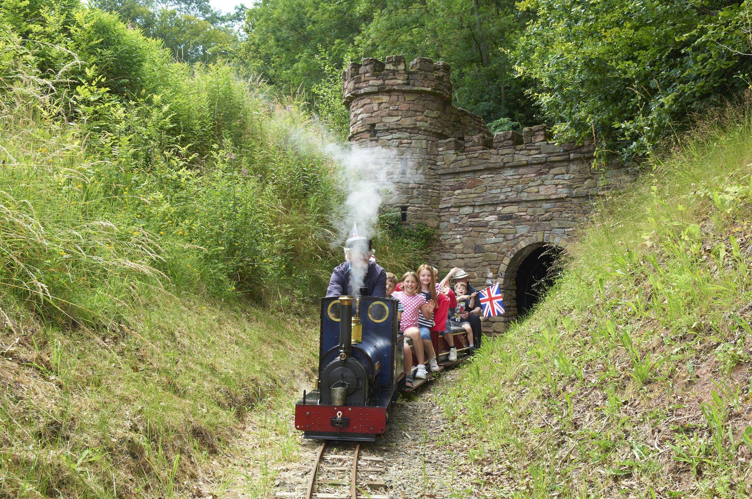 Train at castle JGEG.jpg
