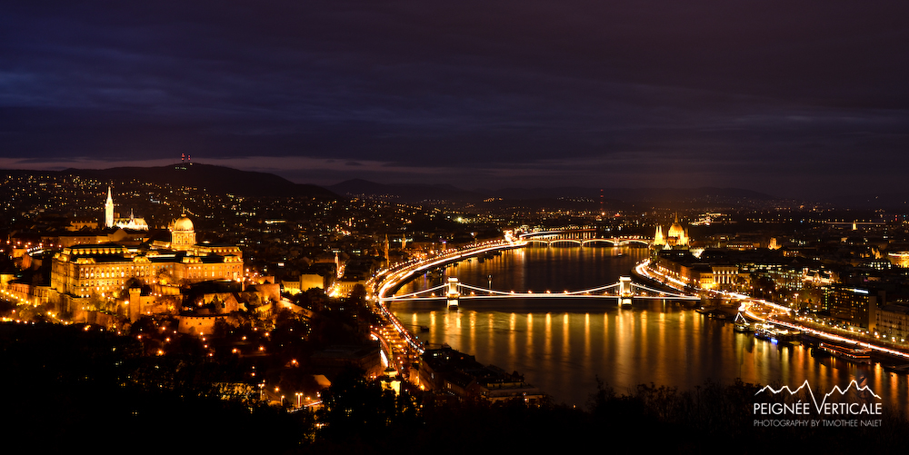 Night landscape - Budapest