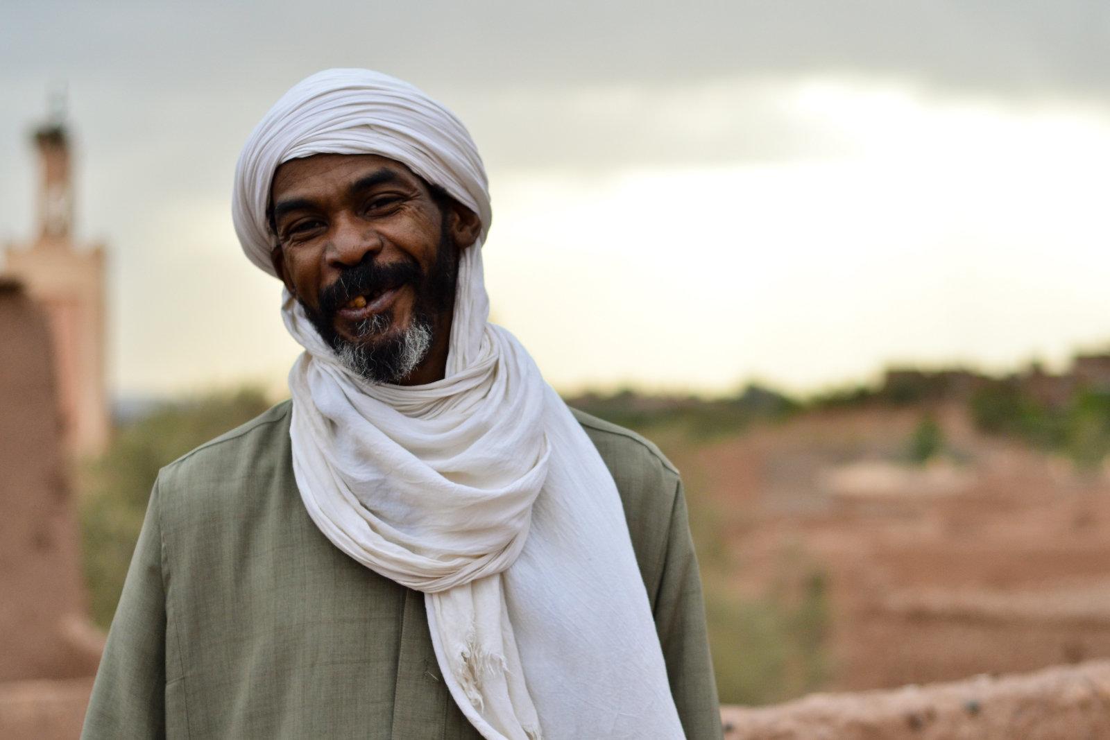 Mohamed, l'artiste le plus célèbre de Ouarzazate