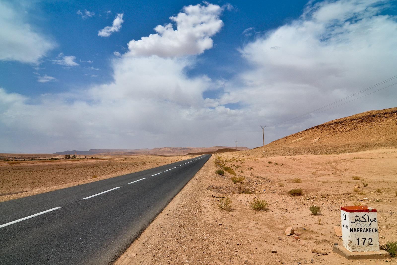 Route vers Marrakech