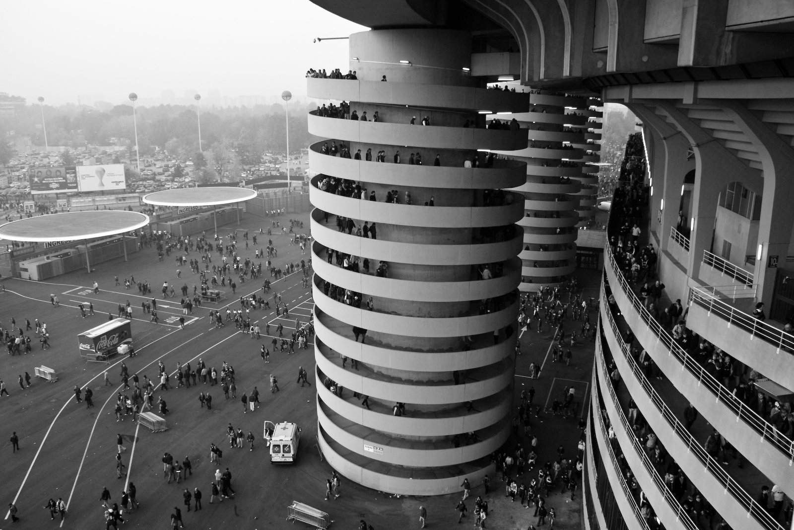 Milan : le stade de San Siro
