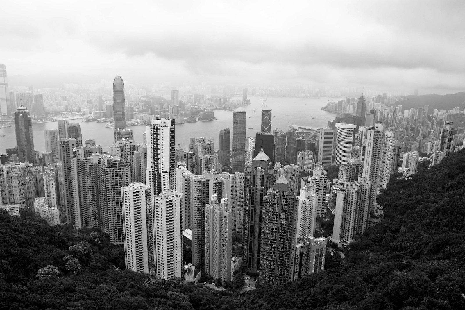 Hong Kong, depuis la Sky Terrace