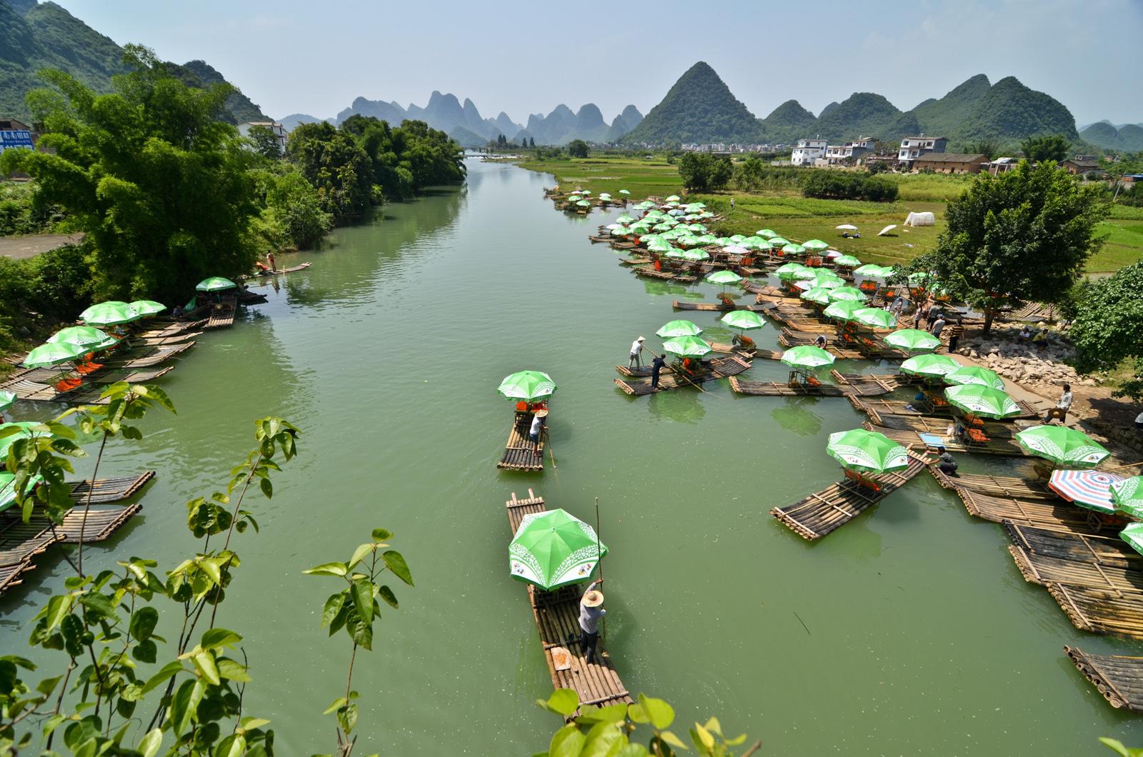 Li River, proche de Yangshuo