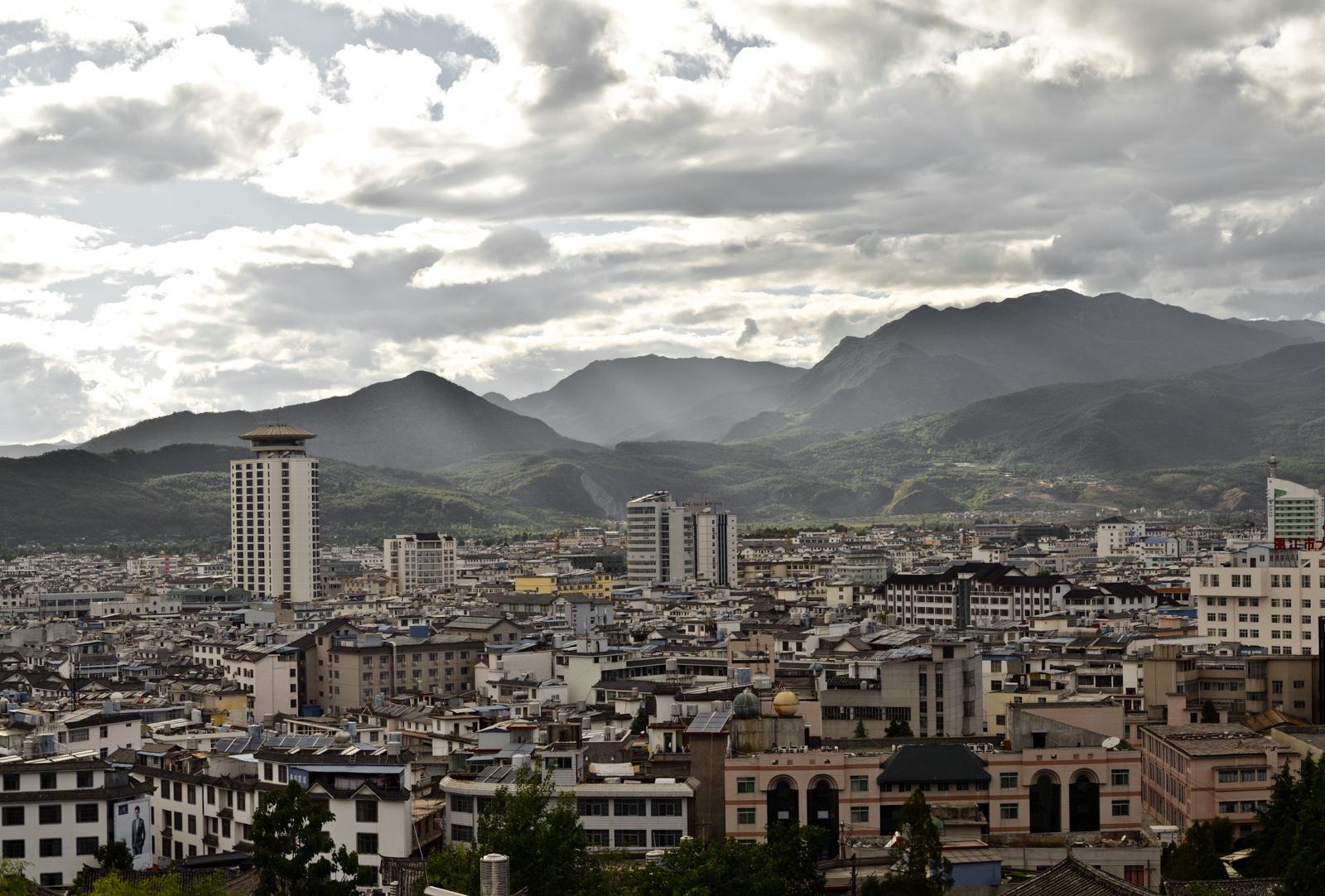 Lijiang, la nouvelle ville