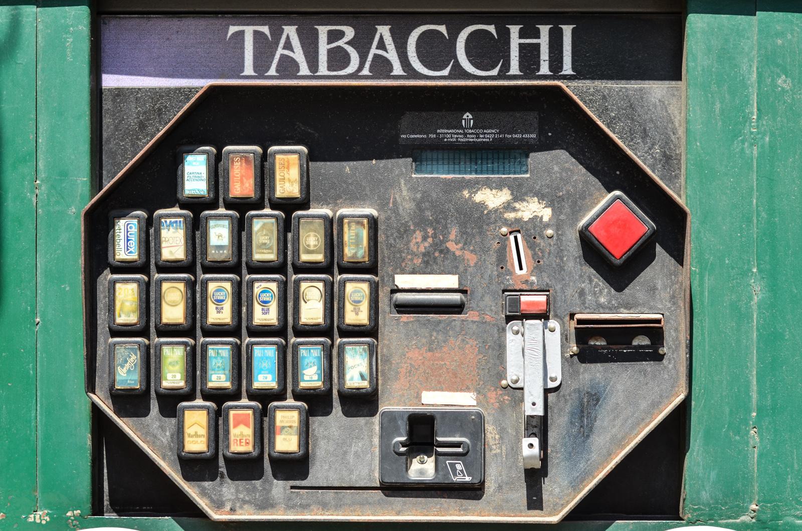 Distributeur de tabac