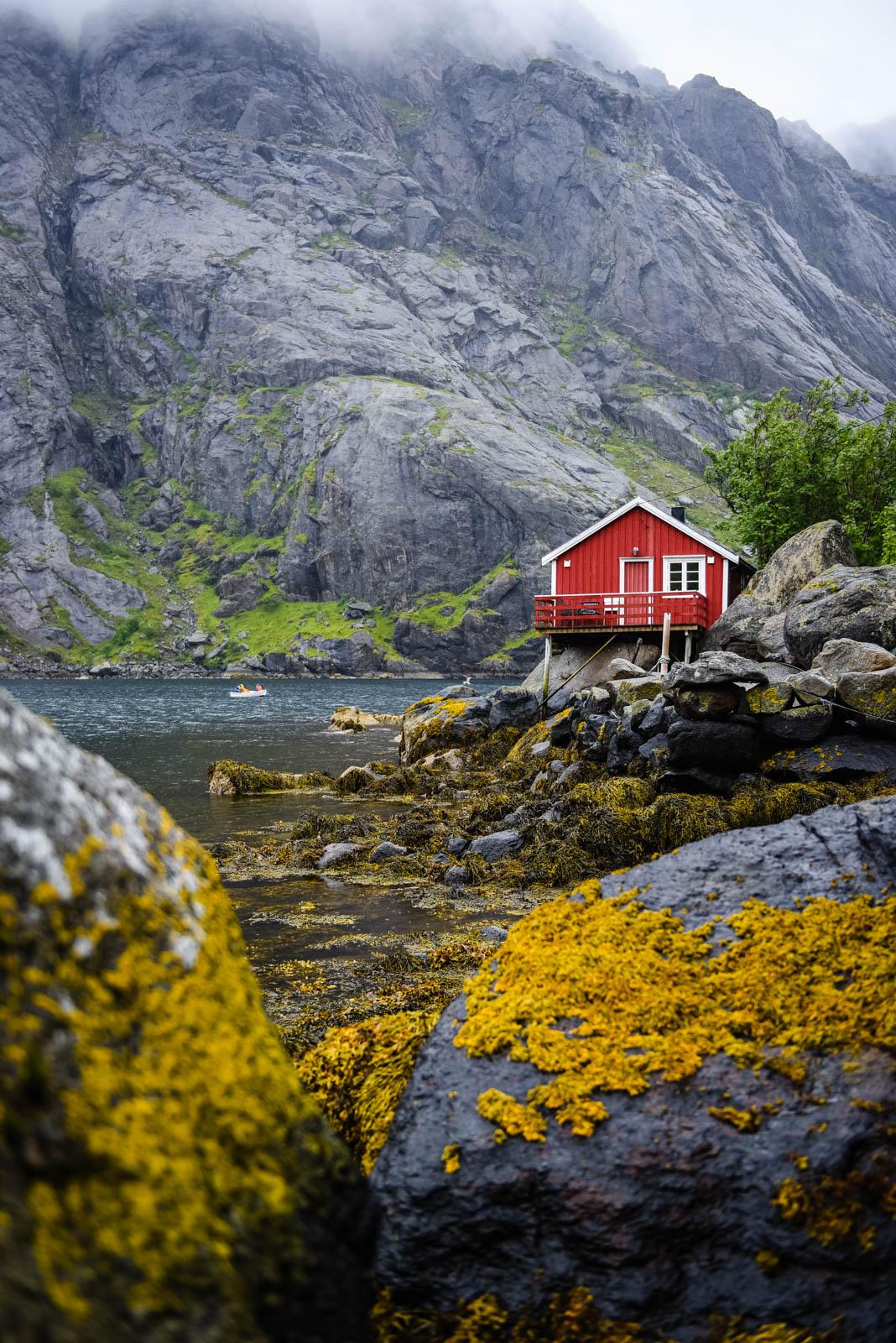 Cabane de pêcheur à Nusfjord