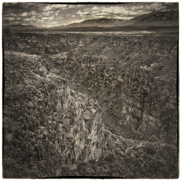 Rio Grande Gorge, ©2014 Lee Anne White
