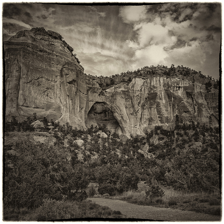 Natural Arch, El Malpais National Monument, Grants, New Mexico. Photo ©2014 Lee Anne White.