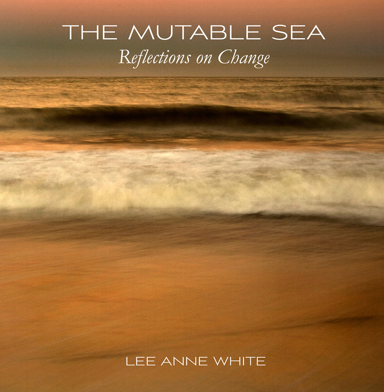 The Mutable Sea: Reflections on Change , by Lee Anne White.  Whitespace Press, 2013. Paperback, 70 pp, 56 color photographs, $35. ISBN 978-0-9887928-2-1