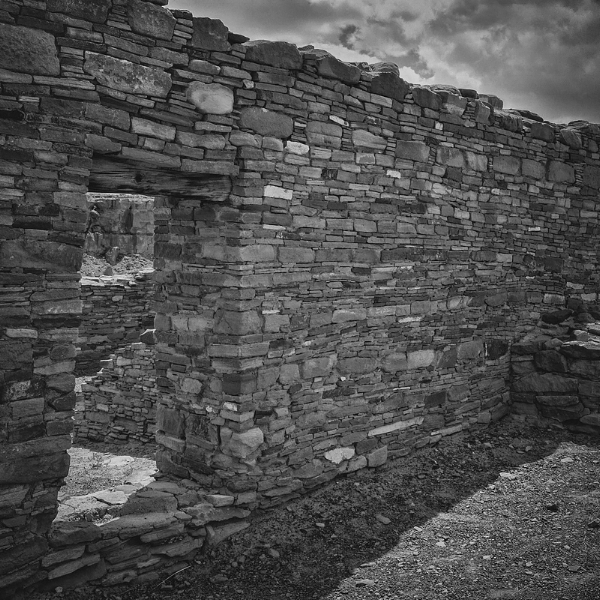 I'm heading to Chaco Culture National Historical Park today. This is an image taken in the park at Casa Rinconada a few years ago. Photo ©2014 Lee Anne White.