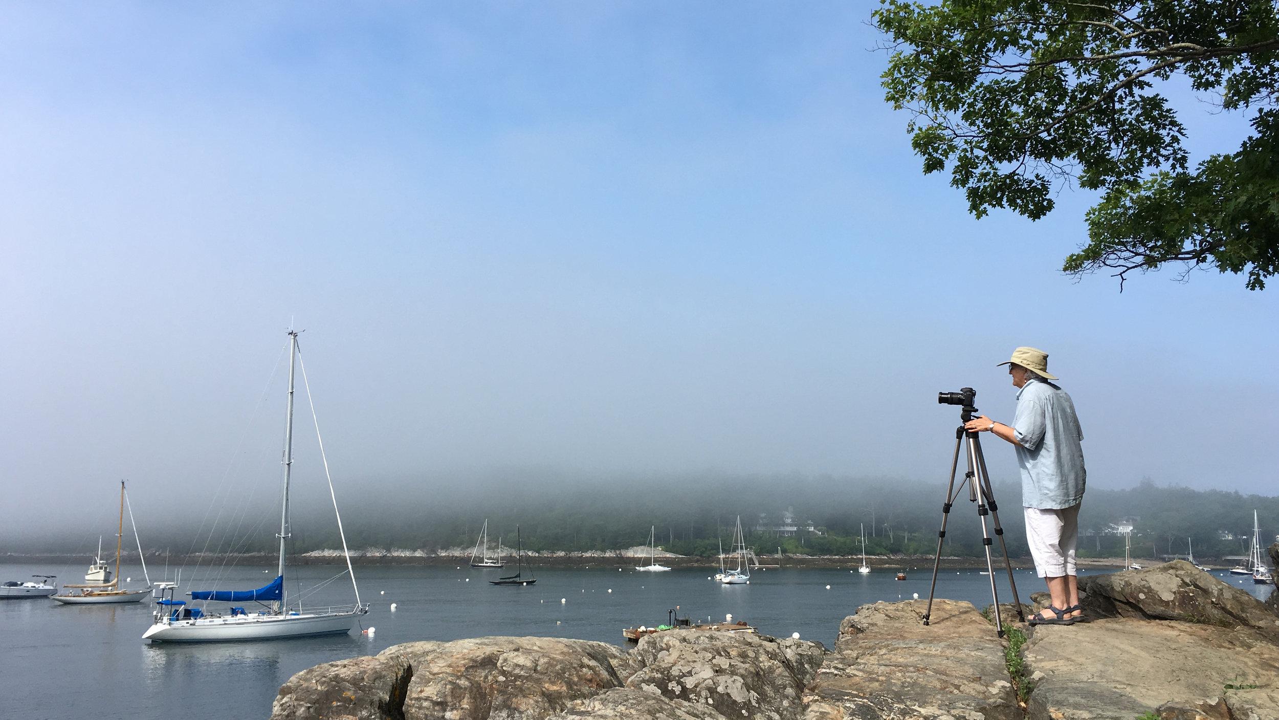 Rockport Harbor is home to Maine Media Workshops.