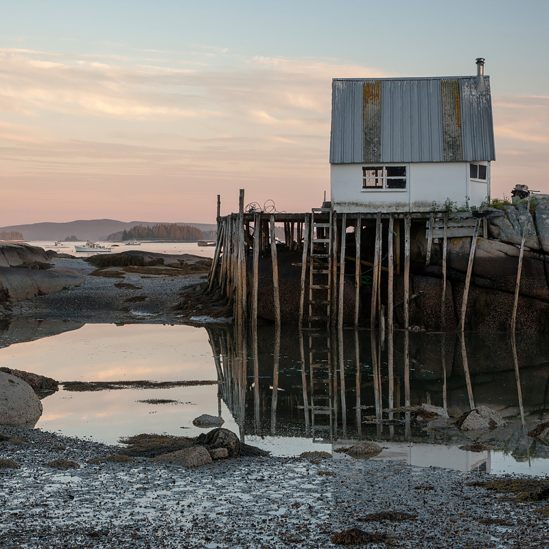 The Maine coast is rich with photographic possibilities and serves as home base for two workshops I teach at the Maine Media Workshops:   Photographing Water in the Landscape  and   Creative Explorations in Botanical Photography  . Photo ©2017 Lee Anne White.