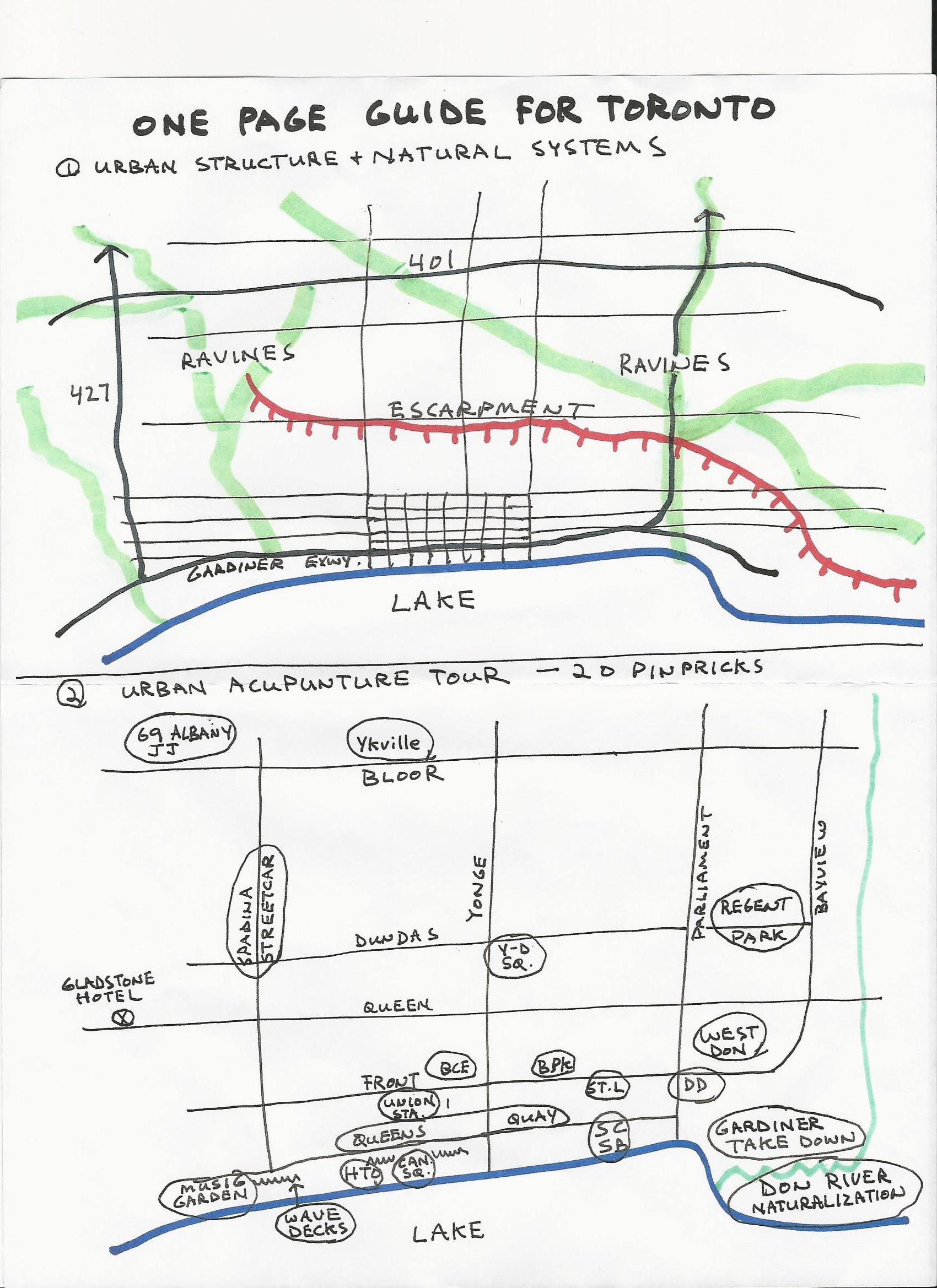 Paul Bedford's Urban Acupuncture Guide for Toronto