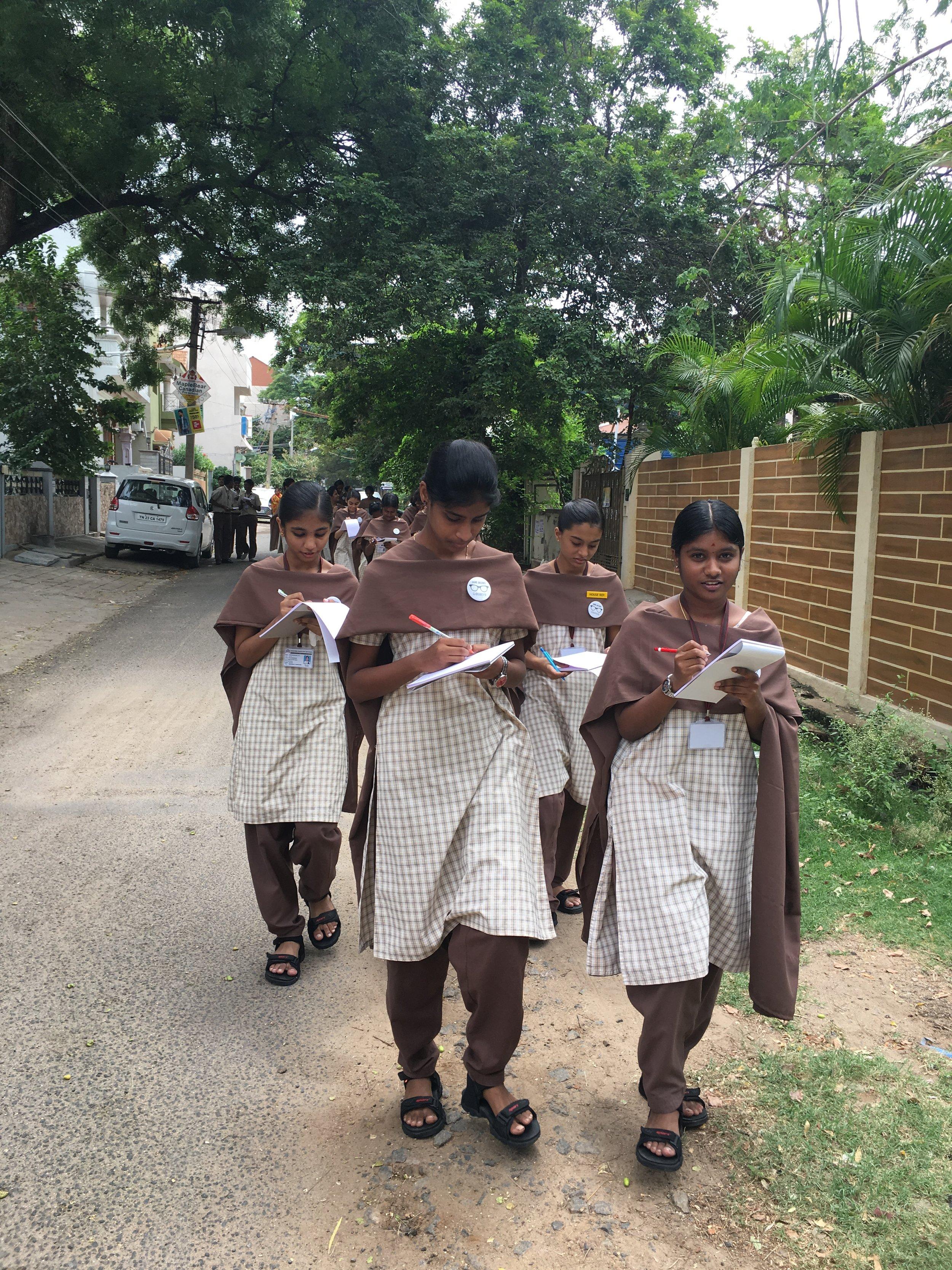 02 Observe India Workshop at Lakshmi Garden School, Vellore