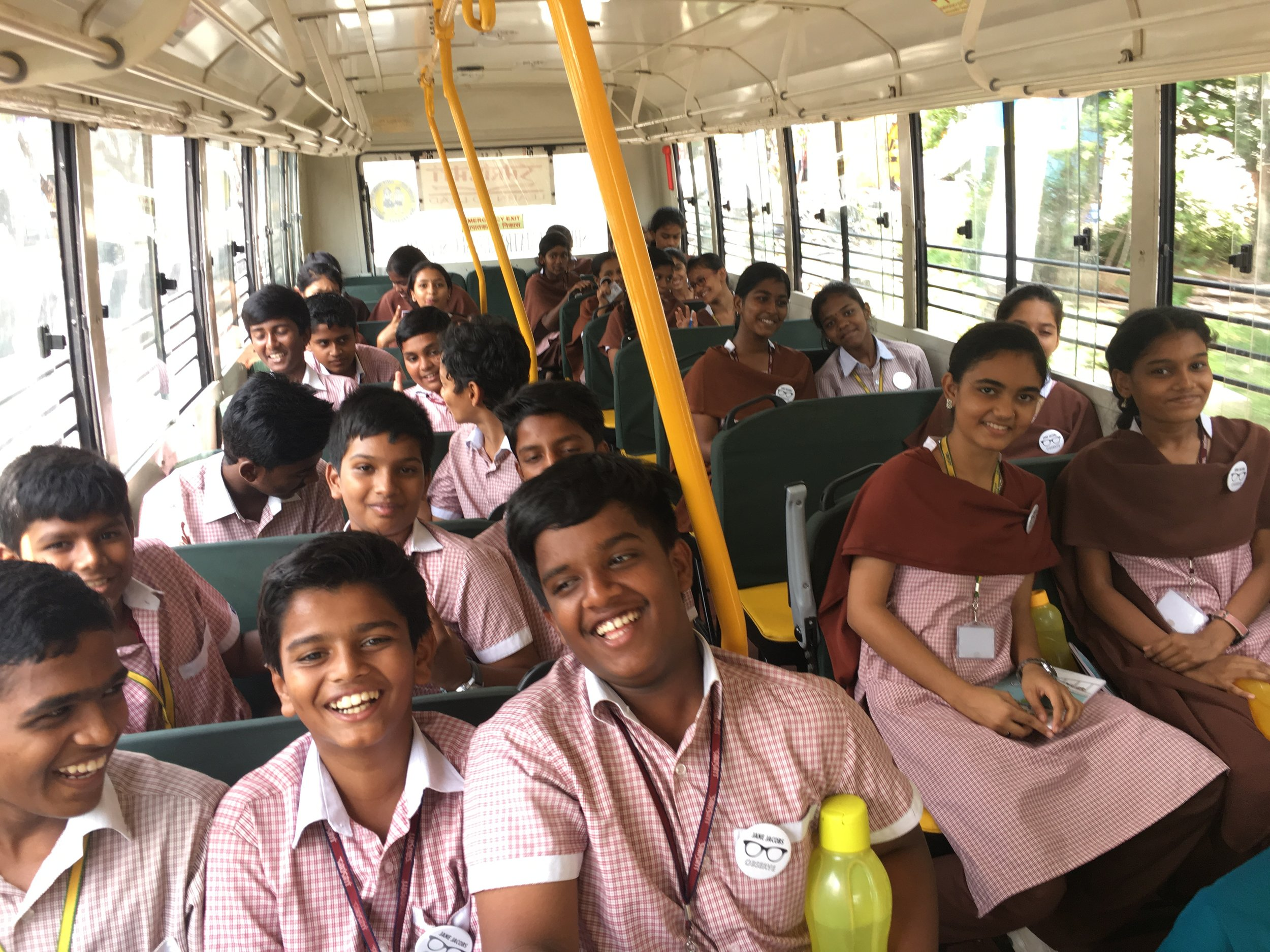 Off we go to Gandhi Nagar